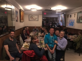 Celebrating departures and new published papers with dinner at Fung Shing in Chinatown.